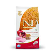 N&D - Adult Csirke & Gránátalma csökkentett gabonatartalmú kutyatáp 12Kg