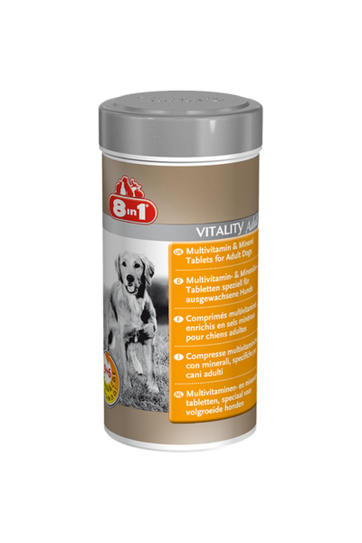 8IN1 Multi Vitamin Felnőtt kutya 70db