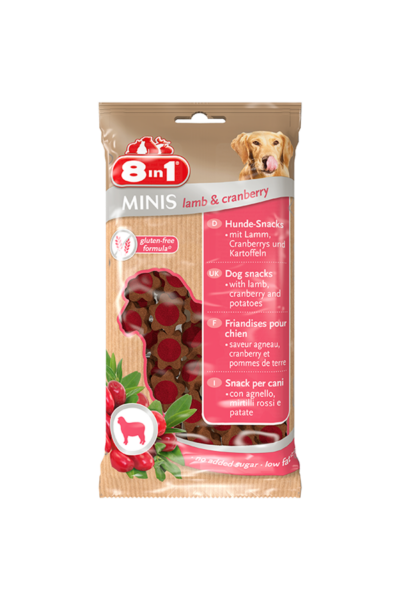 8IN1 Minis lamb & cranberry jutalomfalat