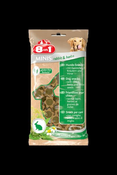 8IN1 Minis rabbit & herbs jutalomfalat