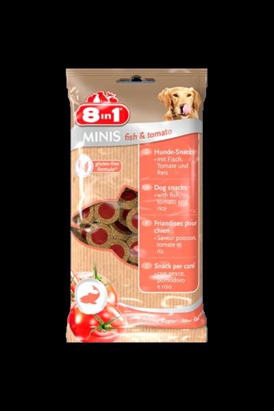 8IN1 Minis fish & tomato jutalomfalat