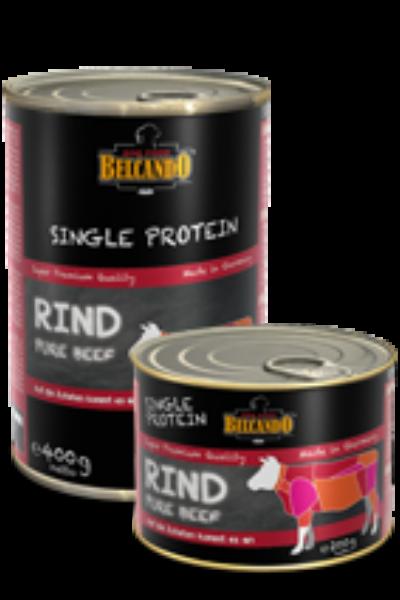 Belcando SINGLE PROTEIN (egy fajta fehérjés)  marha konzerv
