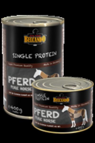 Belcando SINGLE PROTEIN (egy fajta fehérjés)  ló konzerv