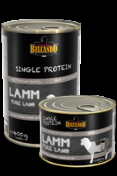 Belcando SINGLE PROTEIN (egy fajta fehérjés)  bárány konzerv