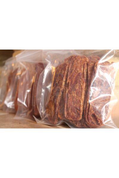 Prémium színtiszta marhahús-szeletek, állateledel 250 gramm