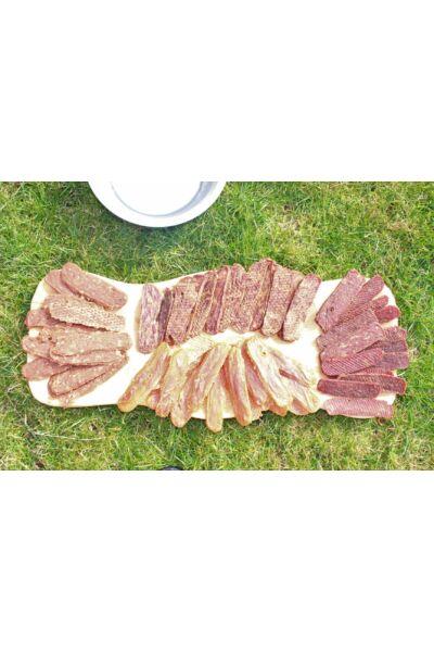 Prémium színtiszta szárított hússzeletek 4x250 gramm
