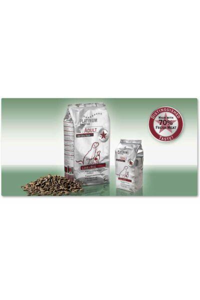 Platinum-natural Adult Lamb+Rice - Felnőtt hipoallergén kutyatáp bárányból