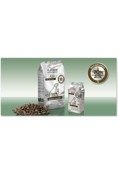 Platinum-natural Adult Iberico+Greens - Felnőtt száraz hipoallergén kutyatáp ibériai sertésből