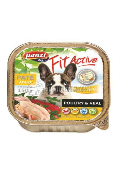 FitActive - Dog Szárnyas kutyakonzerv 150g