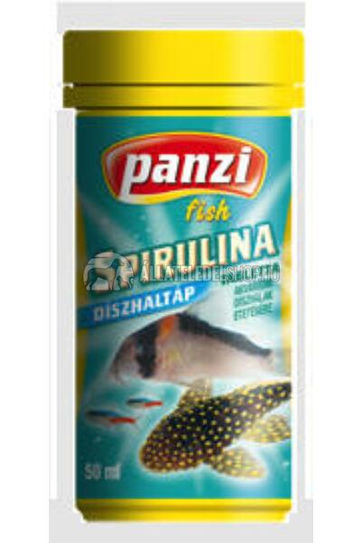 Panzi Spirulina díszhaltáp 50ml
