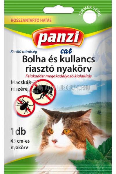 Panzi bolha és kullancs riasztó nyakörv macskának
