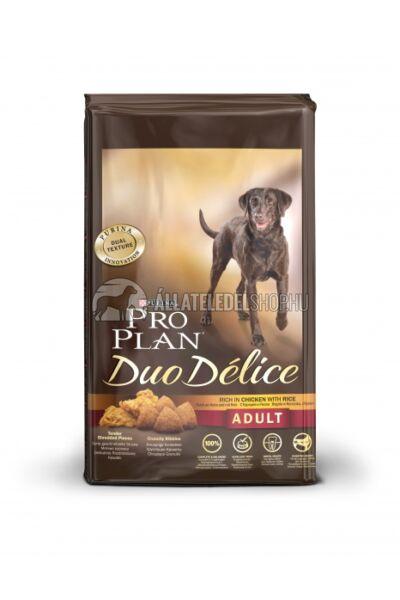 Pro Plan - Duo Delice Adult Csirke & Rizs kutyatáp 10kg