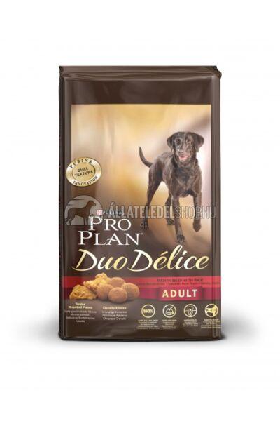 Pro Plan - Duo Delice Adult Marha & Rizs kutyatáp 10kg