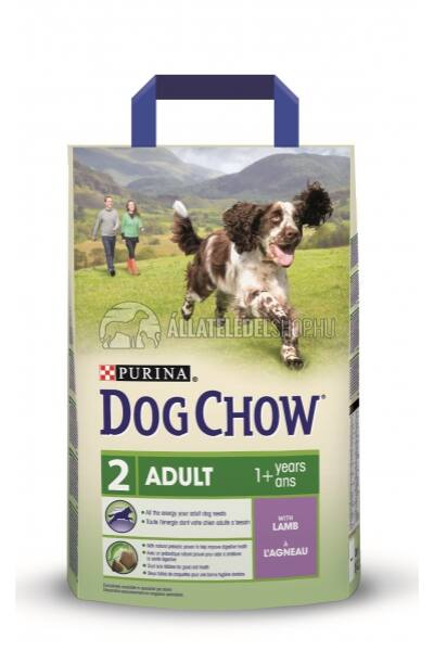 Dog Chow - Adult Bárány húsos kutyatáp 2,5kg