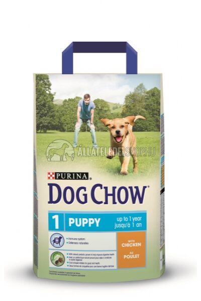 Dog Chow - Puppy Csirke húsos kutyatáp 2,5kg