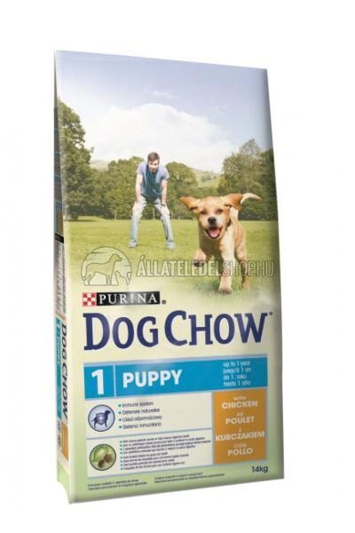 Dog Chow - Puppy Csirke húsos kutyatáp 14kg