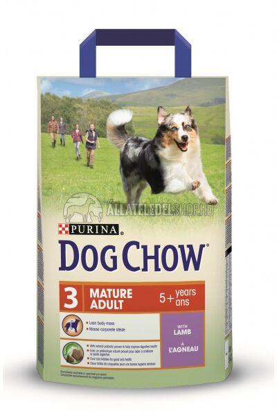 Dog Chow - Senior Adult Bárány húsos kutyatáp 2,5kg