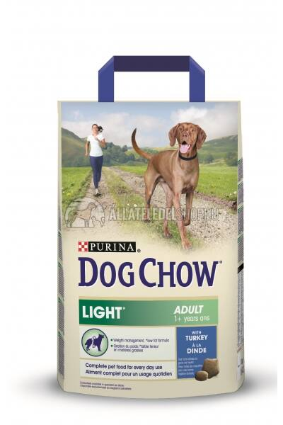 Dog Chow - Light Pulyka húsos kutyatáp 2,5kg