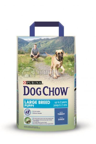 Dog Chow - Puppy Large Breed Pulyka húsos kutyatáp 2,5kg