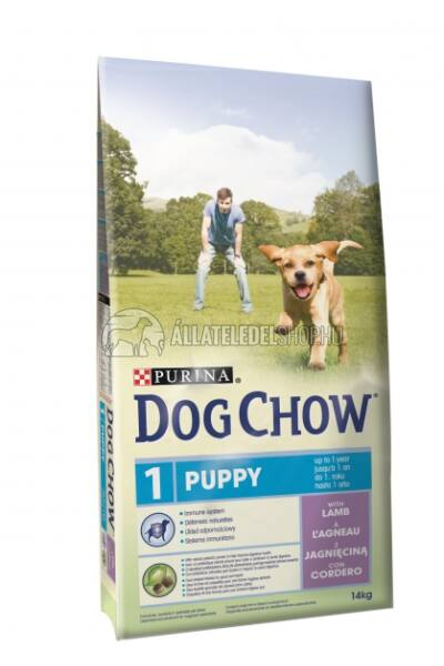 Dog Chow - Puppy Bárány húsos kutyatáp 14kg