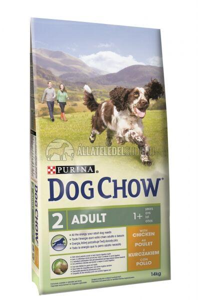 Dog Chow - Adult Csirke húsos kutyatáp 14kg