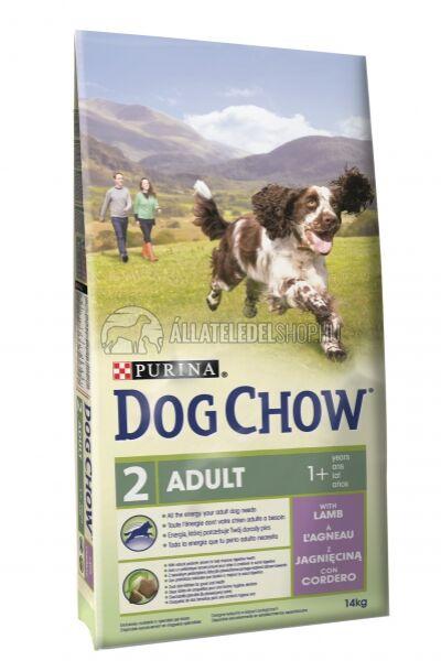 Dog Chow - Adult Bárány húsos kutyatáp 14kg