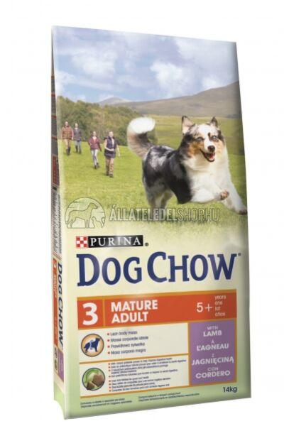 Dog Chow - Senior Adult Bárány húsos kutyatáp 14kg