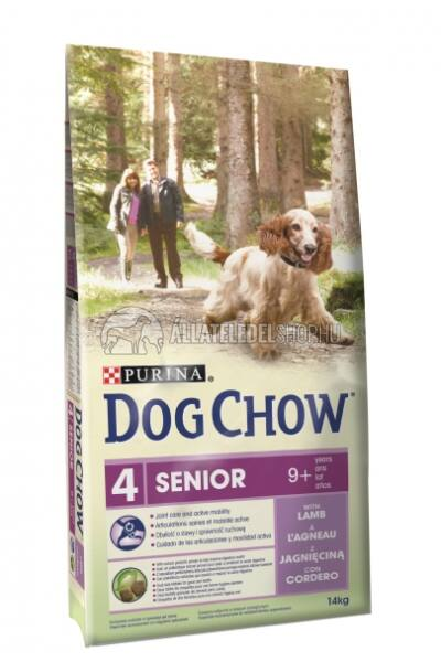 Dog Chow - Sensitive Lazac húsos kutyatáp 14kg