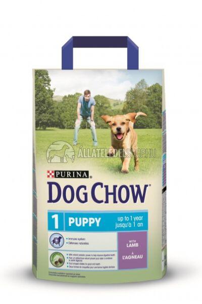 Dog Chow - Puppy Bárány húsos kutyatáp 2,5kg