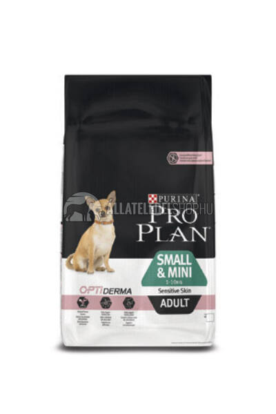 Pro Plan - Small & Mini Adult Sensitive Skin Optiderma kutyatáp 7kg