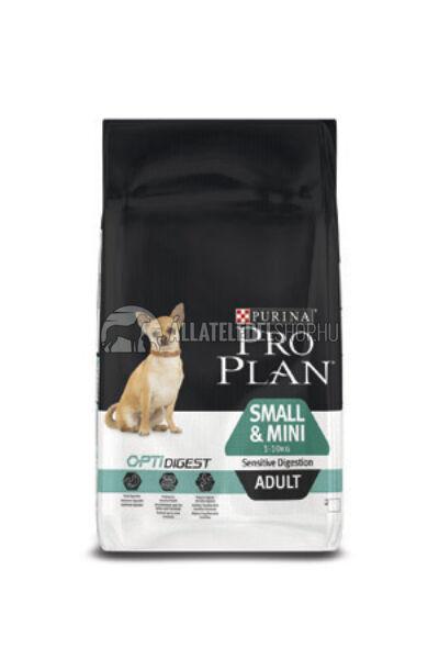 Pro Plan - Small & Mini Adult Sensitive Digestion Optidigest kutyatáp 7kg