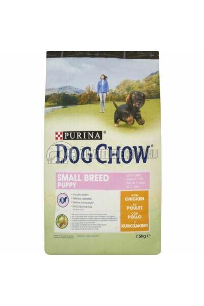 Dog Chow - Small Breed Puppy Csirke húsos kutyatáp 7,5kg