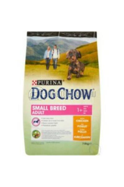 Dog Chow - Small Breed Adult Csirke húsos kutyatáp 7,5kg