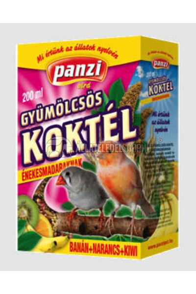 Panzi gyümölcskoktél papagájoknak 200ml