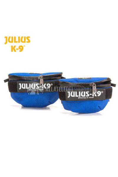Julius K-9  IDC Univerzális oldaltáska – 1 pár - baby1-2, mini-mini hámokra.  Kék