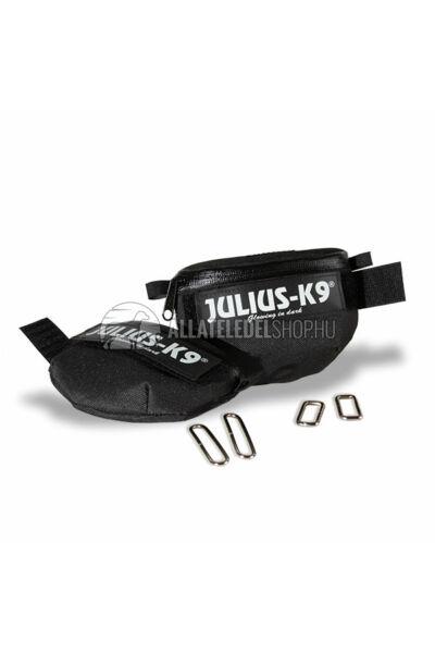 Julius K-9  IDC Univerzális oldaltáska – 1 pár - baby1-2, mini-mini hámokra.  Fekete