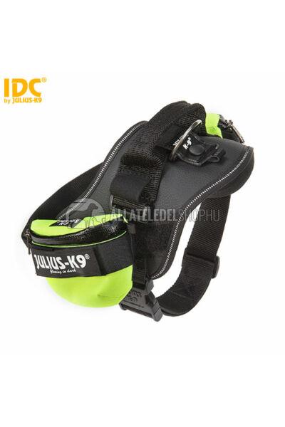 Julius K-9  IDC Univerzális oldaltáska – 1 pár - baby1-2, mini-mini hámokra.  Neon