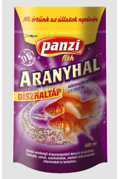 Panzi Aranyhal díszhaltáp 400ml