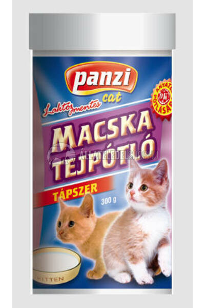 Panzi macskaeledel - Cat Tejpótló tápszer