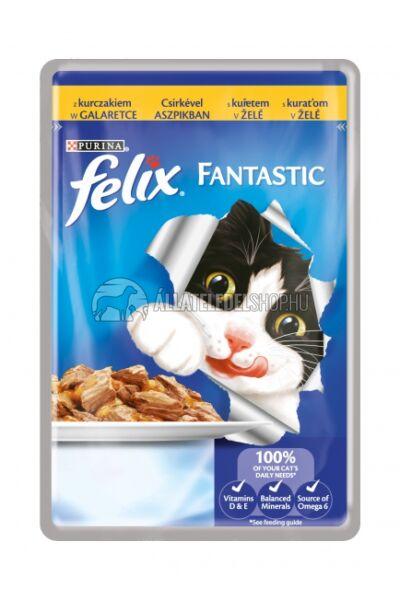 Felix macskaeledel - Csirke alutasakos macskáknak 100g