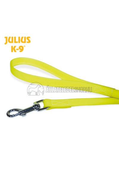 Julius K-9  IDC® Lumino foszforeszkáló póráz – 1,2 m / 19 mm fogóval