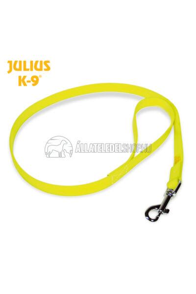 Julius K-9  IDC® Lumino foszforeszkáló póráz – 1 m / 19 mm fogóval