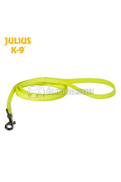 Julius K-9  IDC® Lumino foszforeszkáló póráz – 2 m / 19 mm fogóval