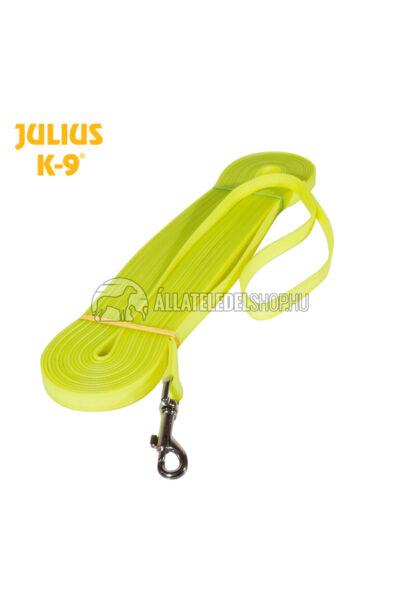 Julius K-9  IDC® Lumino foszforeszkáló póráz – 5 m / 19 mm fogóval