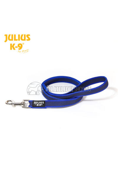 Julius K-9  Color & gray - Gumis póráz - Blue-Gray – 1.2 m / 20 mm