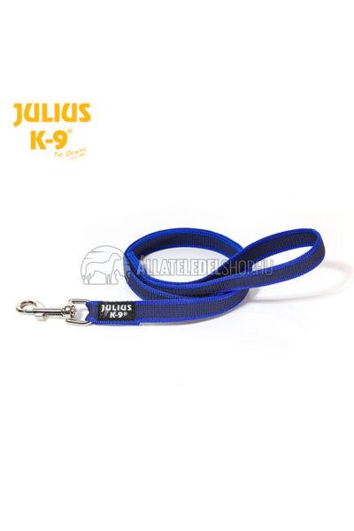Julius K-9  Color & gray - Gumis póráz - Blue-Gray – 1 m / 20 mm