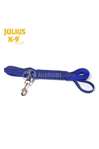 Julius K-9  Color & gray - Gumis póráz - Blue-Gray – 5 m / 20 mm