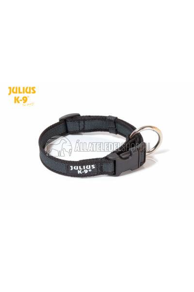 Julius K-9  Color & Gray nyakörv - 20 mm - Fekete.