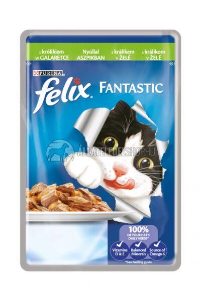 Felix macskaeledel - Nyúl  alutasakos macskáknak 100g