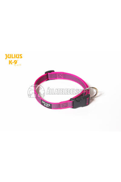 Julius K-9  Color & Gray nyakörv - 25 mm - Pink.